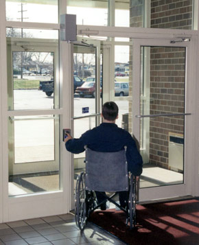 DuraSwing MK4 door operator for the handicapped